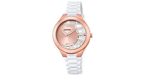 Calypso de mujer reloj de pulsera Fashion Analog PU de ...