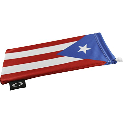 Oakley Country Flag Microbag Sunglass Accessories - Puerto Rico Flag / One - Oakley Case Hard