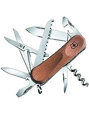 Victorinox Träfickkniv Evolution Wood 17 (13 funktioner, träsåg, korkdragare, blad, sax, burköppnare )