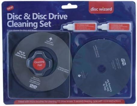 Ardisle Cd Dvd Disc Drive Cleaner Set Fluid Laser Elektronik