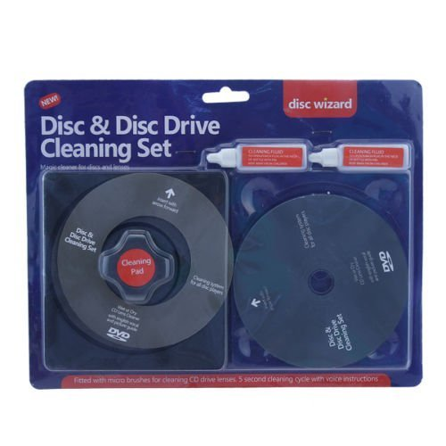 Schone Gadgets Ardisle Cd Dvd Disc Drive Cleaner Cleaning Set Fluid Laser Lens Laptop Computer Wii Xbox