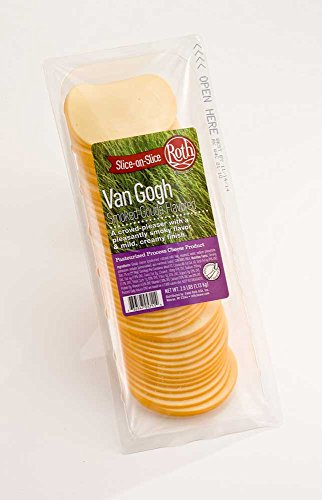 Roth Kase Signatures Slice On Slice Van Gogh Smoked Gouda Cheese, 2.5 Pound -- 4 per case. by Roth Kase (Image #1)