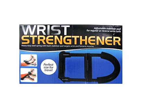 K&A Company Wrist Strengthener Heavy Duty Steel Spring Case of 12