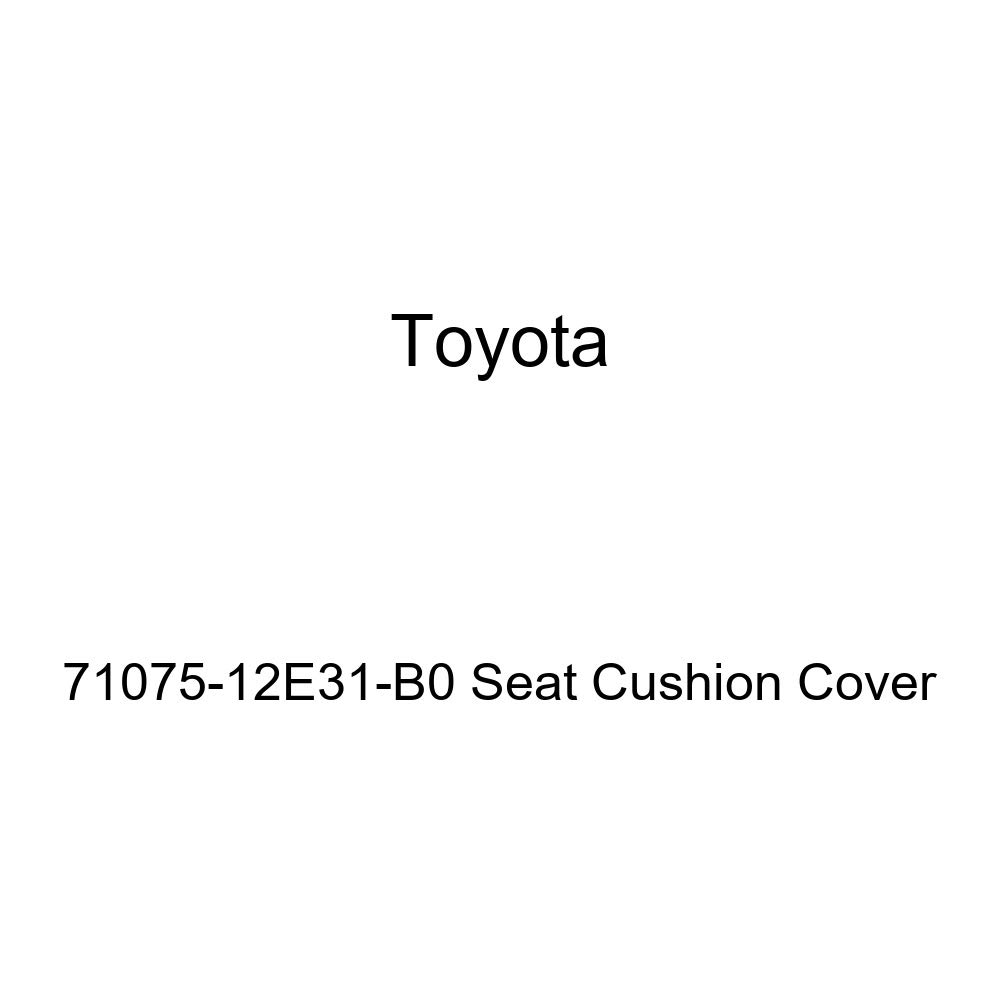 TOYOTA Genuine 71075-12E31-B0 Seat Cushion Cover