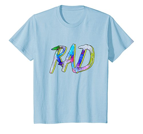 Kids RAD! - 80s Slang Hallowen Costume T-Shirt