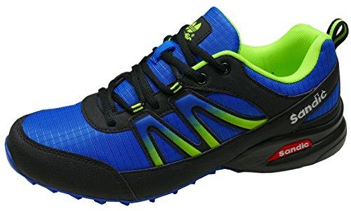 Pour schwarz neongrün Blau Course Homme Gibra Chaussures De Yfg7byv6