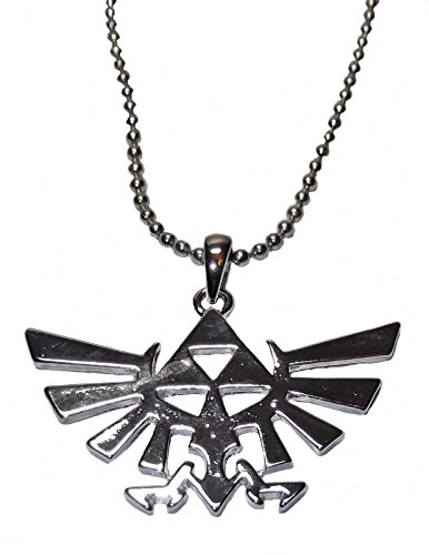 New Horizons Production The Legend of Zelda Tri Force Natural Forces Pendant Necklace]()