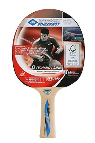 Donic-Schildkroet Donic Schildkrot Ovtcharov 600 Table Tennis Bat - Brown by by Donic-Schildkroet