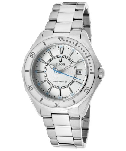 Bulova Women's 96M123 Winter Park Silver Tone/Silver Stainless Steel Watch