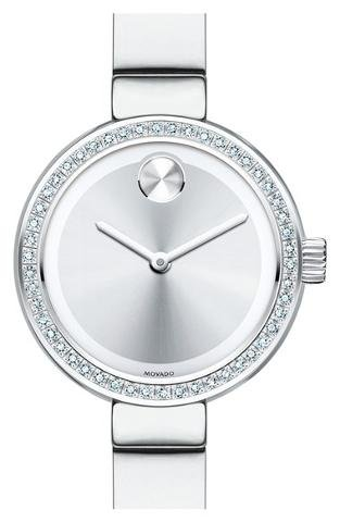 Womens Bold  Quartz Silver Band Silver Dial - Movado 3600321