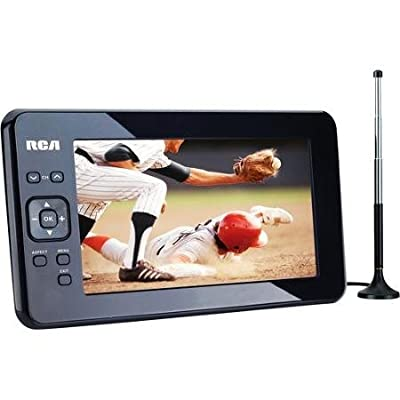 "RCA T227 7"" Portable Widescreen LCD TV with Detachable Antenna from RCA"