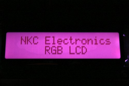 Character LCD Module 16x2 RGB Backlight for Arduino by Nooelec