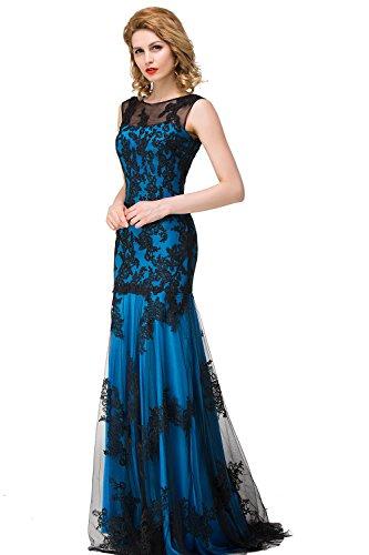Abendkleider lang blau - Stylische Kleider für jeden tag