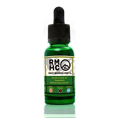 Price comparison product image Rocky Mountain Hemp Co Premium Organic Hemp Oil (1000mg)