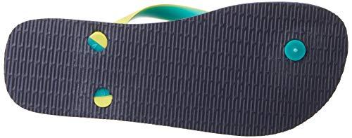 neon Mix Mehrfarbig Havaianas Zehentrenner erwachsene navy Yellow Unisex Top t0q0gp