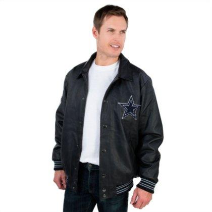 Dallas Cowboys PU Varsity Jacket by Dallas Cowboys