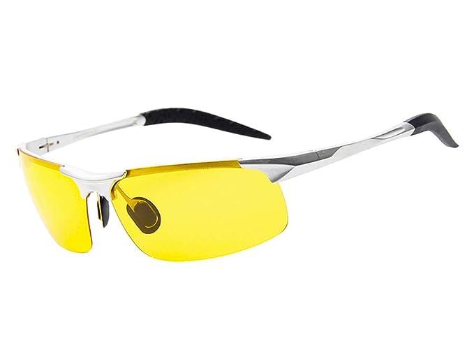 Amazon.com: beison HD visión nocturna conducción anteojos ...