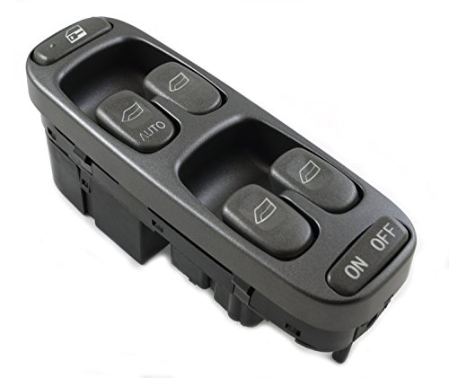 Eynpire 9801 Power Master Window Switch Control For 1998 1999 2000 Volvo V70 S70 ( 8638452 -