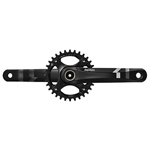 SRAM X1 Mountain Bicycle GXP Crankset (Black - 175mm x 32T) by SRAM