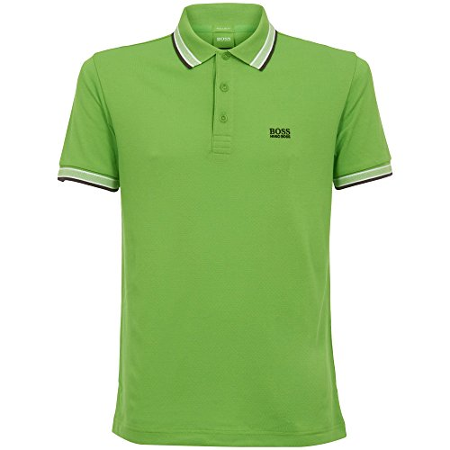 BOSS Green Men's Paddy Polo,Pastel Green, XL by Hugo Boss