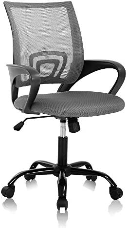 Home Office Chair Computer Chair Mesh Chair Mid Back Ergonomic Desk Chair