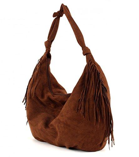 ESPRIT edc Fes Hobo Bag Brown