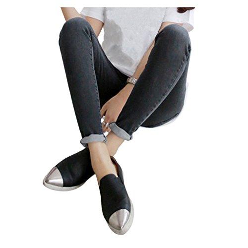 Ajustable vrac En Pantalon Maternit Ordinaire 20 Dchir Bleu jeans Gland Hzjundasi Style Enceinte lastique HqznwSSa
