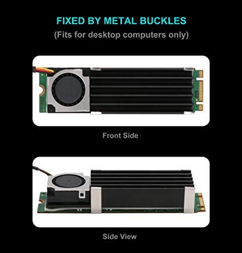 Advancing Gene NVMe M.2 SSD Cooler Heatsinks with 20mm Fan, 2nd Generation by Advancing Gene (Image #4)