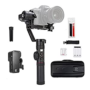Zhiyun Crane 2 3 Axis Handheld Gimbal Stabilizer with Real Time Follow Focus Control,OLED Display Support for DSLR Cameras 3.2KG Max.Payload