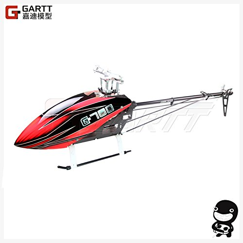 GARTT 700 DFC TT RC Helicopter Torque Tube Version fiber glass canopy fits Align Trex