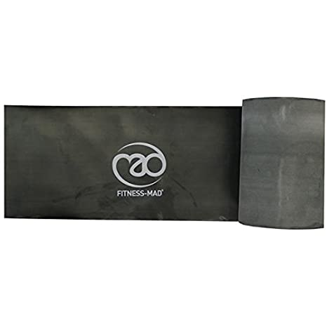 Amazon.com : Resistance band - strong (black) - 15m roll by ...
