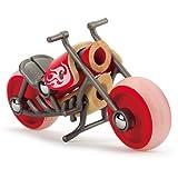 Hape e-Chopper Bamboo Toy Motorcycle Kid's Play Vehicle