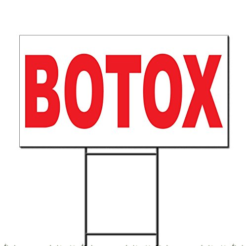 botox-red-corrugated-plastic-yard-sign-free-stakes-18-x-24-inches-two-sides-color