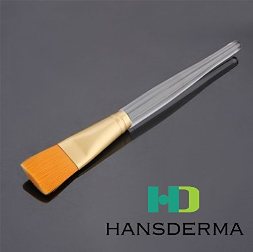 Hansderma SkinSoft Facial Mask Brush (Golden brush)