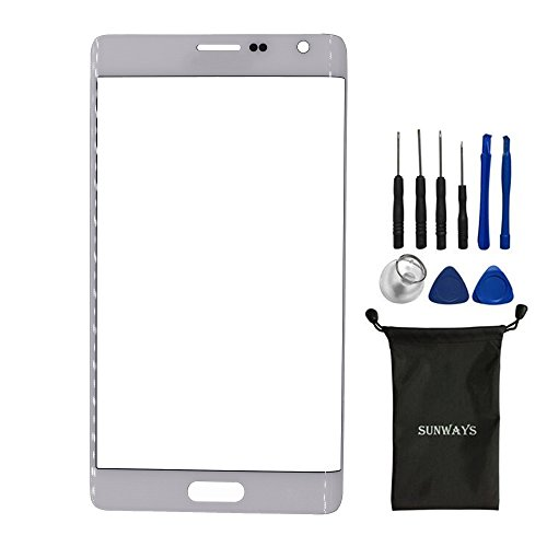 sunways Outer Glass Lens Screen Replacement For Samsung Galaxy Note Edge N915A N915T N915VZ With device opening - Edge Screen Replacement Note
