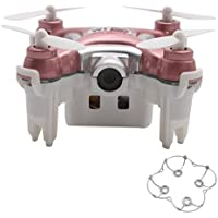 Zczhang fish858 Cheerson CX-10WD 2.4G FPV WiFi Quadcopter 0.3MP Camera (No Remote Control) (Pink)