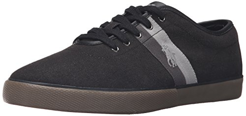 Polo Ralph Lauren Hommes Denim Denim Mode Sneaker Sombre Denim