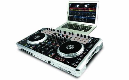 Numark N4 4-Deck Digital DJ Controller And (Numark Video Controller)
