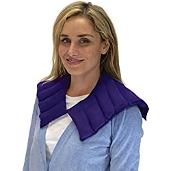 Sensacare Hot & Cold Natural Therapy Neck/Shoulder Wrap, New Purple, 3 Pound
