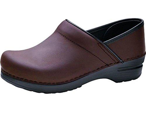 Dansko Shoes Mens Clog Professional Leather 46 Brown Black 206780202 by Dansko