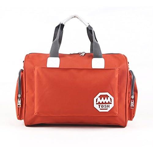 SENLI 22 litres waterproof Duffle travel bag tote Carry-On shoulder Handbags orange