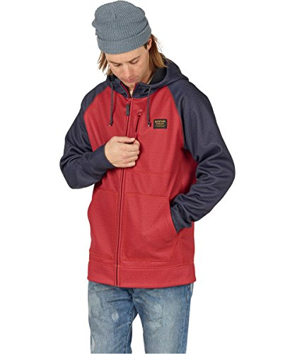 bitters Heather Con Bonded Cappuccio Full Multicolore Burton Zip AzfqY