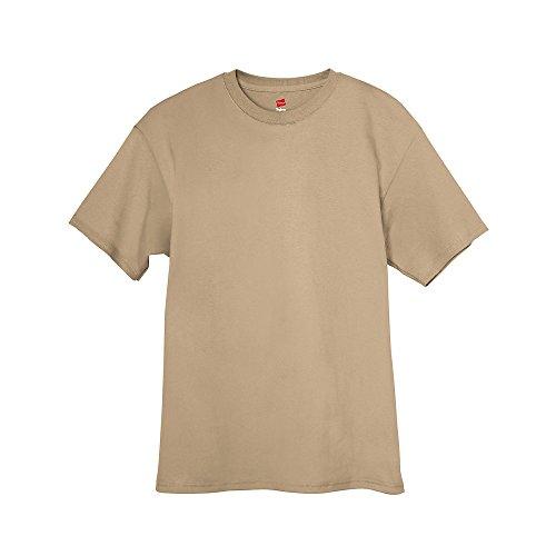 shirt Men`s Pebble Tagless T Hanes ZAxqPY