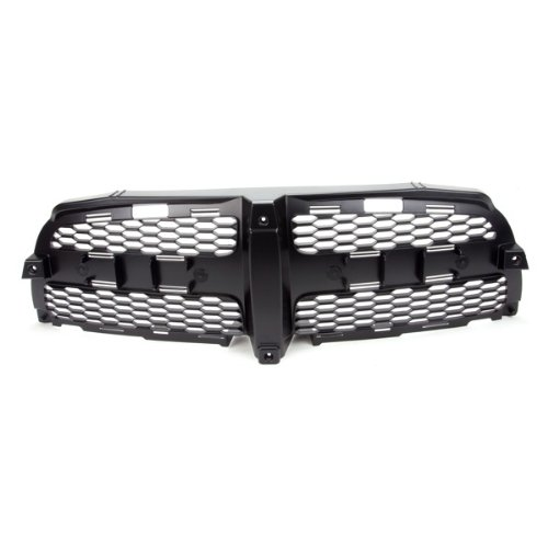 CarPartsDepot, Front Grille Grill Insert Plastic Black Honey Comb Assembly, 400-172174 CH1200339 -
