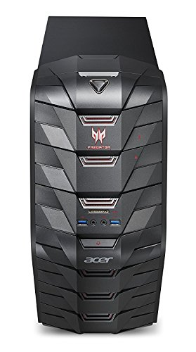 NEW Acer Predator G3 High Performance Gaming Tower Desktop, Intel Core i7-7700(8M Cache, up to 4.2GHz), 32GB DDR4, 1TB HDD, 256GB SSD, NVIDIA GeForce GTX 1070, HDMI, USB 3.0, Bluetooth 4.0, Win 10