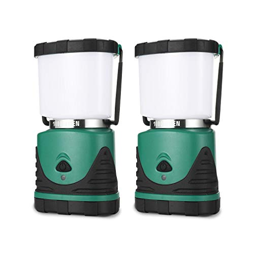 Consciot Camping Lantern with Super Brightness 1000LM, Battery Powered LED Lantern with 4 Lighting Modes, Waterproof…