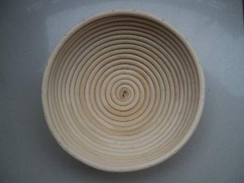 2 Pcs MASTERPROOFING Round Banneton Basket (500g dough)- 22 * 8.5cm B006J7JWHU