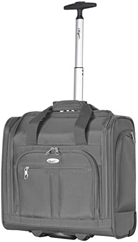 Olympia Under The Seat Carry-on, Gray, One Size