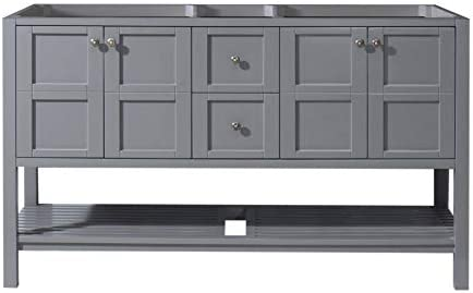 Virtu USA ED-30060-CAB-GR Winterfell Bathroom Vanity
