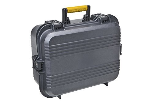 Plano 108031 AW XL Pistol/Accessories Case Black (Series Gun Double Pistol Case)